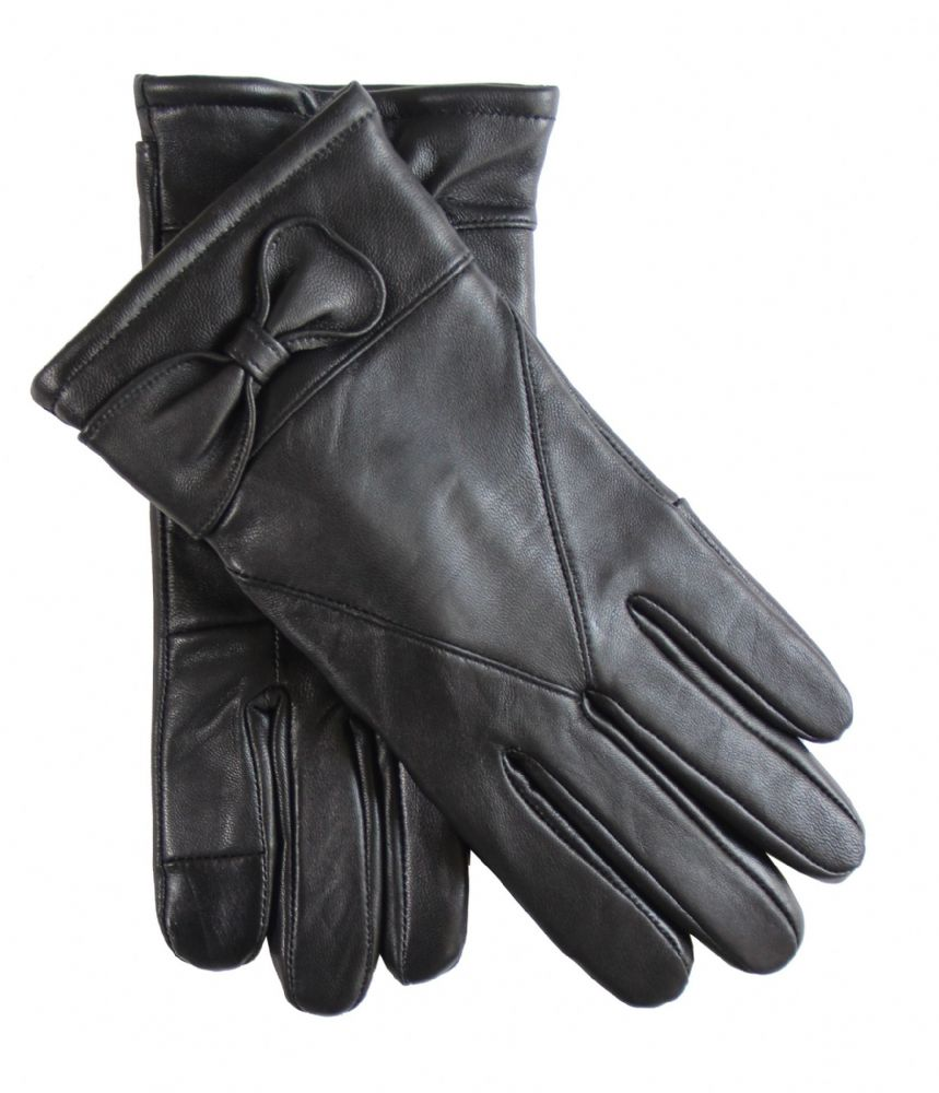 Ladies touch leather gloves H272-WG6610